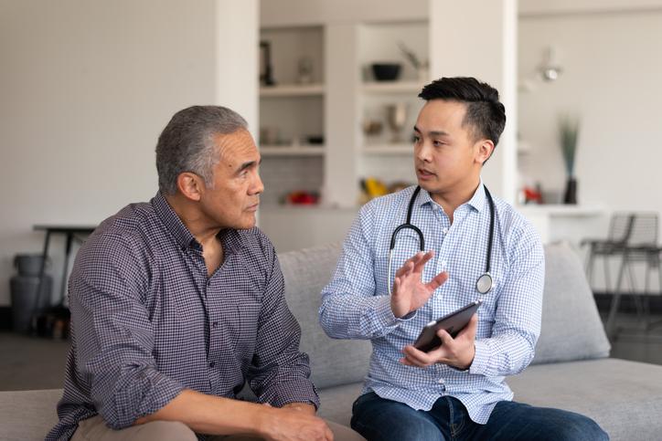 Asian doctor visit
